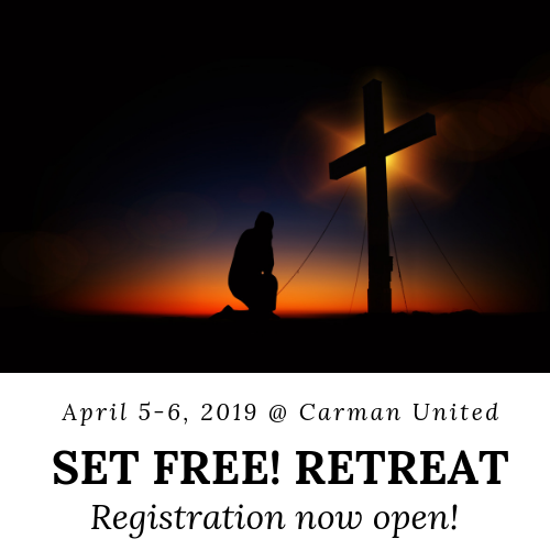 Set Free! Retreat @ Carman United Church, Sydney Mines